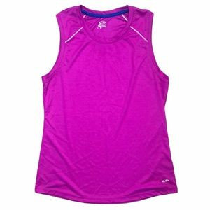 Champion Semi Fitted Sleeveless Athletic Top-SZ L